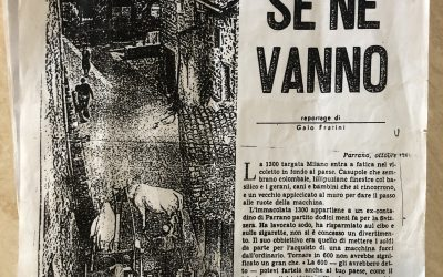 """""""Perché se ne vanno"""" reportage su Parrano di Gaio Fratini"""