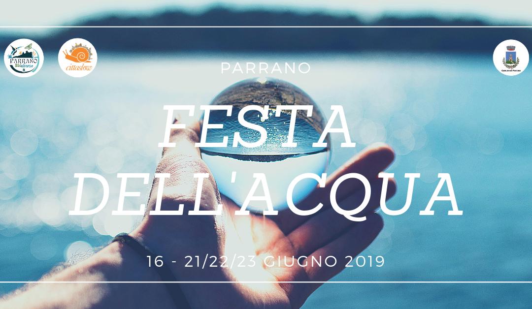 Festa dell'Acqua 2019 – Parrano / Umbria