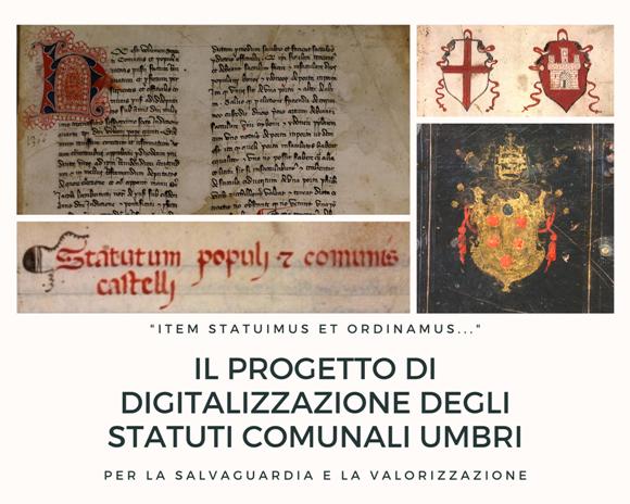Progetto digitalizzazione statuti comunali umbri